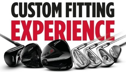Titleist Custom Fitting Event
